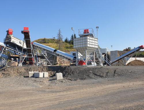 Reconstruction and modernization of the line in the ČÍHANÁ quarry