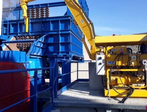 Výstavba nového primárního uzlu drcení linky v kamenolomu BÍLČICE