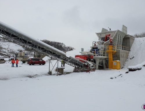 New primary line node at the HUSINÁ quarry, Slovakia