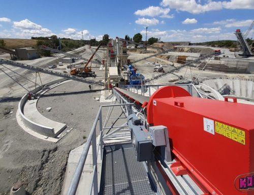 Installation of reservoirs at the GORNO EZEROVO quarry, Bulgaria