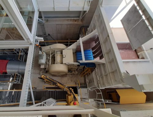 New primary crushing plant and demining for TL in the KAPLICE quarry
