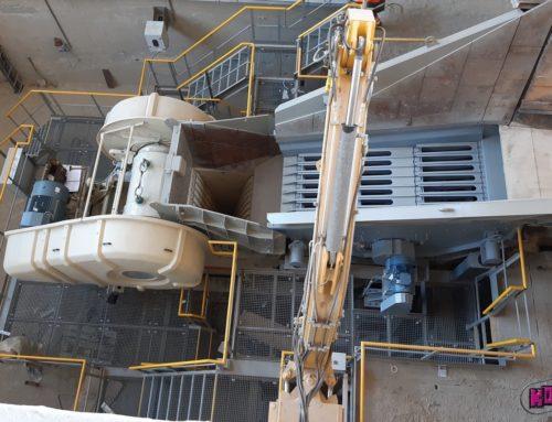 Rekonstrukce primárního uzlu v kamenolomu OLBRAMOVICE