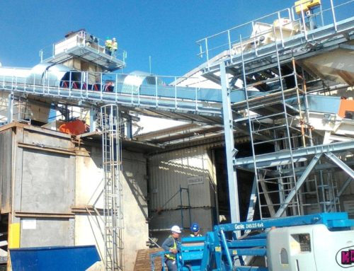 Completion, extension and upgrading of the lines for processing of recycled plasticl with new conveyor belts and chain conveyors and technological steel structures, Kronospan JIHLAVA