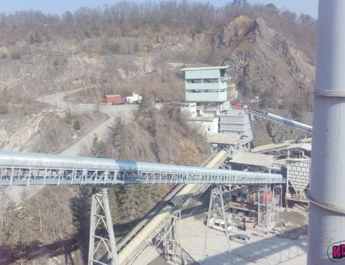 Upgrading of the secondary node of the technological line at the stone quarry ZBRASLAV