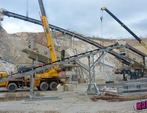 Nová technologická linka na úpravu kameniva v kamenolomu BATOČINA, Srbsko