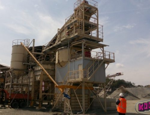 Repair, reconstruction and modernization of a technological line in the stone quarry VÍCENICE